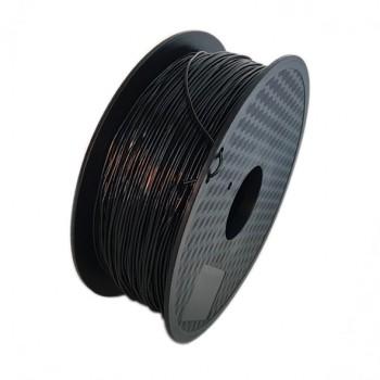 فیلامنت انعطاف پذیر 1 کیلو گرمی پرینتر 3 بعدی دارای جنس TPU و قطر 1.75mm ( رنگ مشکی )