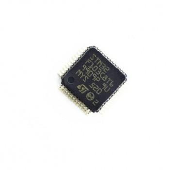 میکروکنترلر STM32F103RBT6 دارای پکیج LQFP64