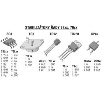 آی سی رگولاتور L7905CV داری پکیج T0-220