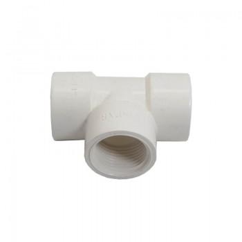 سه راه ماده پلیمری ۱ اینچ [ مناسب برای ساخت گلخانه هوشمند ]