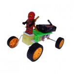 کیت ربات ارابه ای چهار چرخ مناسب برای رده سنی کودکان