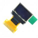 نمایشگر OLED تک رنگ 0.49 اینچ دارای کابل فلت 14 پین و چیپ درایور SSD1306