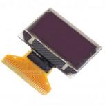 نمایشگر OLED تک رنگ 0.96 اینچ دارای کابل فلت 30 پین  و چیپ درایور SSD1306
