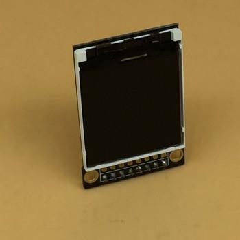 نمایشگر LCD فول کالر 1.77 اینچ دارای کابل فلت 14 پین  و چیپ درایور 7735S