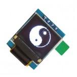 ماژول نمایشگر OLED تک رنگ 0.66 اینچ دارای ارتباط I2C و چیپ درایور SSD1306
