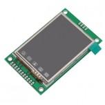 ماژول نمایشگر LCD TFT فول کالر 2.2 اینچ دارای ارتباط سریال ( Usart GPU )