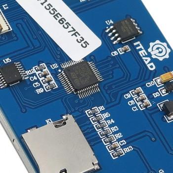 نمایشگر 2.8 اینچی فول کالر تاچ Nextion HMI ورژن بیسیک دارای ارتباط سریال