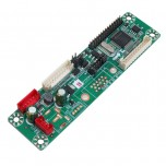 برد درایور LCD مدل MT6820 دارای سوکت خروجی LVDS