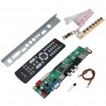 برد درایور LCD چند کاره HDV59 دارای سوکت خروجی LVDS