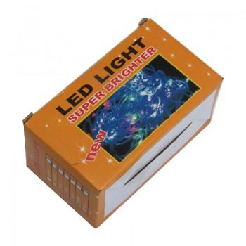 ریسه نور دارای 100 لامپ LED