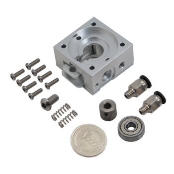 پک کامل قطعات فلزی اکسترودر Bulldog