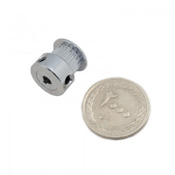 پولی 20 دندانه GT2 مخصوص پرینتر سه بعدی شفت 4 میلیمتری