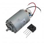 موتور DC مغناطیسی دارای ورودی ولتاژ 220V به همراه یکسو ساز