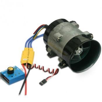 ست کامل موتور براشلس DC ( داکت فن ) و درایور 30A با قابلیت تنظیم سرعت