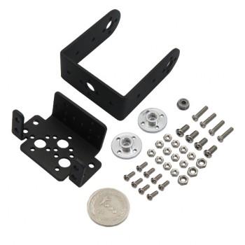 براکت فلزی سروو موتور ویژه ساخت بازوی ربات