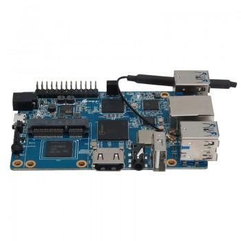 برد چهار هسته ای 64 بیتی Orange Pi 3 دارای 2GB RAM و وایفای داخلی