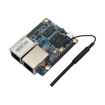 برد چهار هسته ای 32 بیتی Orange Pi R1 دارای RAM 256MB و وایفای داخلی