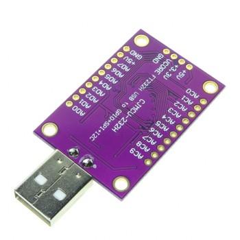ماژول مبدل USB به UART / FIFO SPI / I2C دارای چیپ FT232H محصول CJMCU