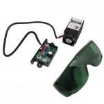 ست کامل دیود لیزر 400-460 نانومتری 500 میلی وات با قابلیت کنترل TTL