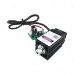 ست کامل دیود لیزر 405 نانومتری 500 میلی وات با قابلیت کنترل TTL