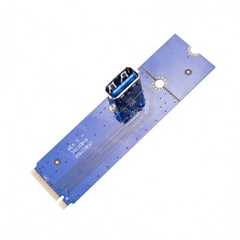 تبدیل M2 NGFF به USB 3.0 ویژه رایزرهای گرافیک