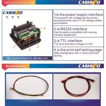 ماژول پرینتر حرارتی CSN-A1K دارای ارتباط RS232 / TTL
