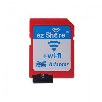 آداپتور کارت حافظه میکرو SD وایفای - سازگار با سیستم عامل های اندروید / IOS