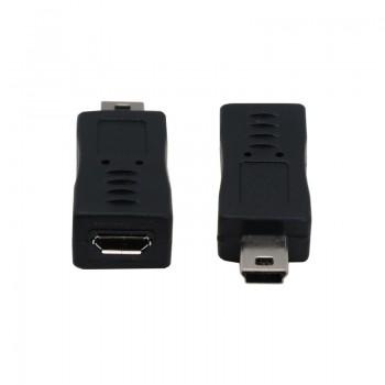 مبدل میکرو USB به مینی USB  مناسب برای شارژ / انتقال داده
