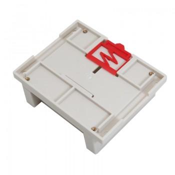 باکس پلاستیکی دارای ابعاد 115mm x 90mm x 40mm