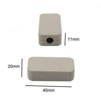 باکس پلاستیکی 11mm x 20mm x 40mm