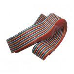 کابل فلت رنگین کمانی 40 پین