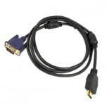 کابل انتقال سیگنال HDMI به VGA یک و نیم متری