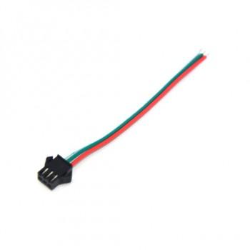 کانکتور SM سه پین دارای کانکتور مادگی - مناسب برای LED های رشته ای و انتقال توان