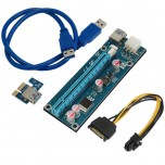 رایزر گرافیک PCI-E 1X به 16X مدل 006C