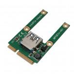 کارت مبدل Mini PCI-e به USB2.0
