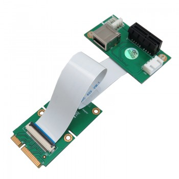 کارت آداپتور PCI-E به PCI-E Express 1X ویژه رایزرهای گرافیک