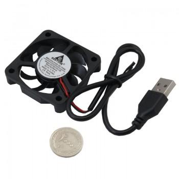 فن 5 ولت براشلس 5×5 با کابل USB
