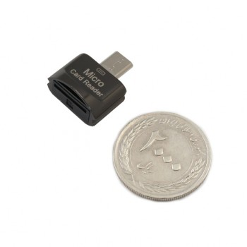 مبدل حافظه میکرو اس دی به میکرو USB ( مموری ریدر OTG )