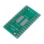 برد دو لایه تبدیل SMD به DIP ویژه آی سی های SOP/SSOP/TSSOP/SOIC28/SOL28