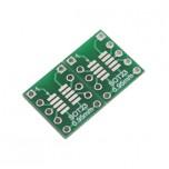 بسته 2 تایی برد دو لایه تبدیل SMD به DIP ویژه آی سی های SOT23/MSOP-10