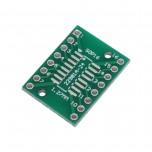 برد دو لایه تبدیل SOP16 / SSOP16 / TSSOP16 به DIP16