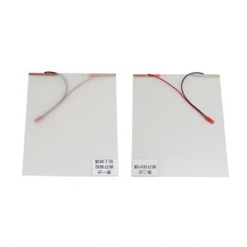 شیشه هوشمند دارای ابعاد 15X20 سانتی متر