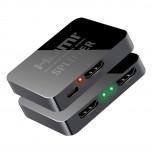 اسپلیتر 1 به 2 پورت HDMI با قابلیت پشتیبانی از 4K