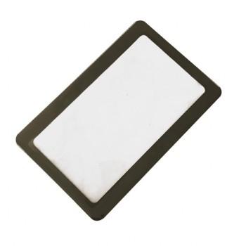 ذره بین کارتی با قابلیت بزرگنمایی سه برابر و ابعاد 85x55 میلی متری