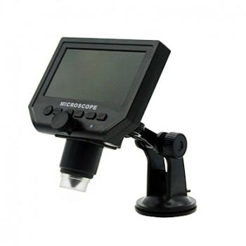 میکروسکوپ دیجیتال 600X دارای صفحه نمایش 4.3 اینچی و ارتباط USB مناسب برای دیباگ مدارهای الکترونیکی