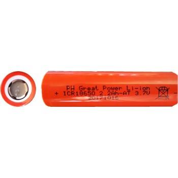 پک دوتایی باتری لیتیوم یون 4400mAh 3.7V سایز 18650