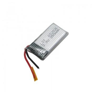 باتری لیتیوم پلیمر تک سل 3.7 ولت 350 میلی آمپر ساعت
