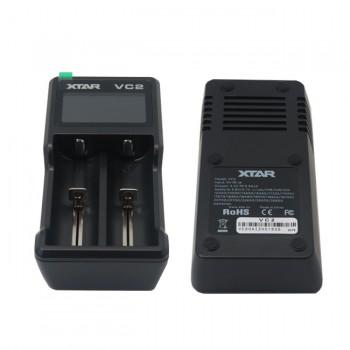 شارژر باتری لیتیوم یون دوتایی VC2 محصول XTAR