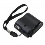 ژنراتور دستی 5 ولت دارای خروجی USB