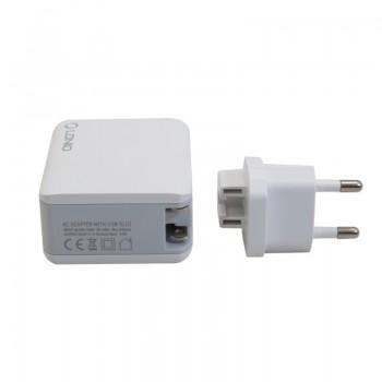آداپتور و شارژر 5 ولت 4.4 آمپر دیواری دارای چهار خروجی USB محصول LDNIO